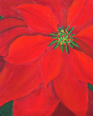 Painting - Christmas Is Red by Iryna Goodall