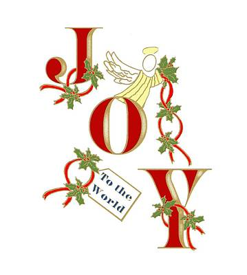 Mixed Media - Christmas Joy by Belinda Landtroop