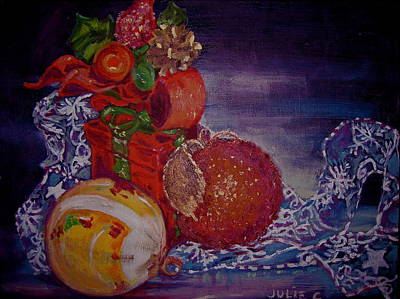 Painting - Christmas by Julie Todd-Cundiff