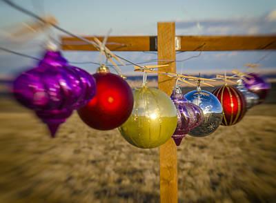 Photograph - Christmas Laundry by John Brink