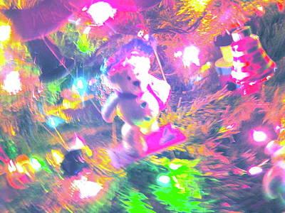 Photograph - Christmas Lights 40 by George Ramos