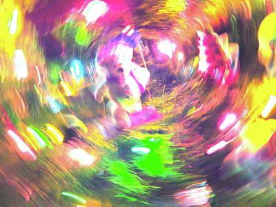 Photograph - Christmas Lights 43 by George Ramos