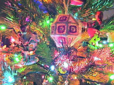 Photograph - Christmas Lights 53 by George Ramos