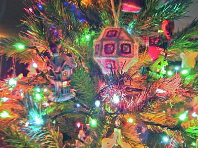 Photograph - Christmas Lights 54 by George Ramos