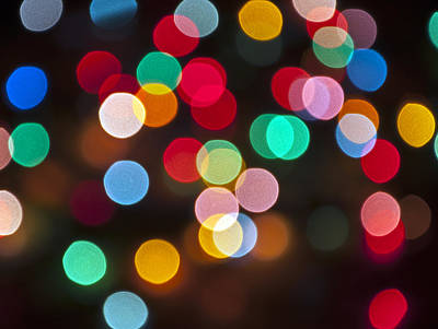 Photograph - Christmas Lights by Glenn Gordon