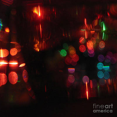 Digital Art - Christmas Lights by Kristi Kruse
