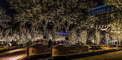 Elpaso Photograph - Christmas Lights by Subhadra Burugula