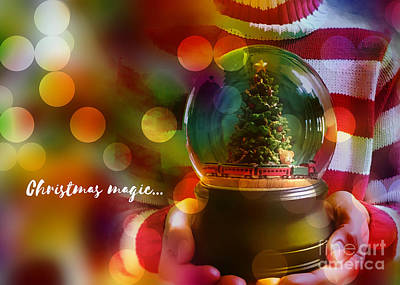 Digital Art - Christmas Magic 2016 by Kathryn Strick