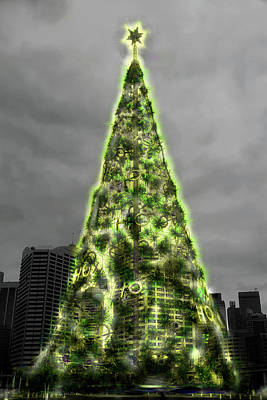 Photograph - Christmas Magic At Darling Harbour by Miroslava Jurcik