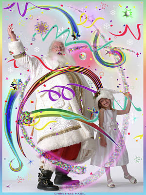 Christmas Magic Art Print