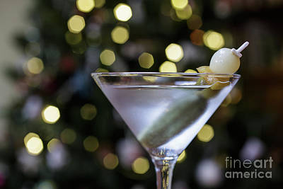 Pickle Photograph - Christmas Martini by Edward Fielding