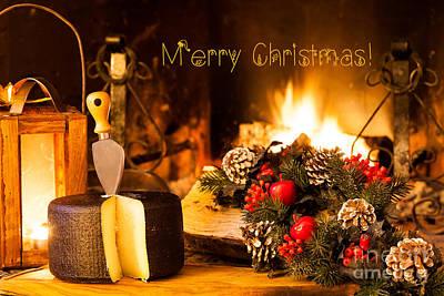 Winter Photograph - Christmas Mood Card by Ezeepics