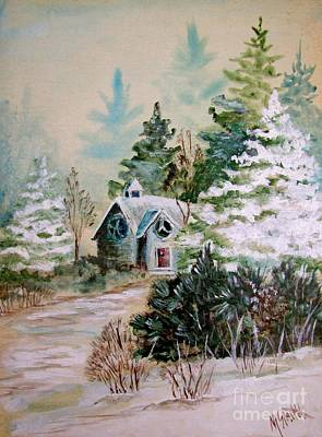 Painting - Christmas Morn by Marilyn Smith