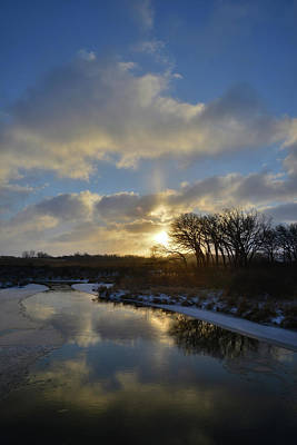 Photograph - Christmas Morning 2017 In Glacial Park 26 by Ray Mathis