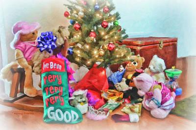 Photograph - Christmas Morning Fun by Kenny Francis