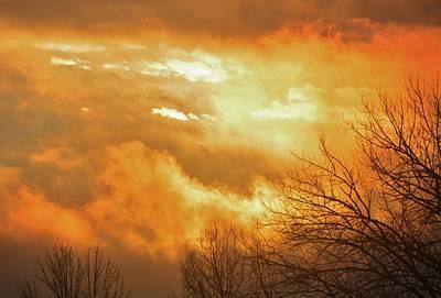Photograph - Christmas Morning Sunrise by Diane Alexander