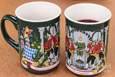 Photograph - Christmas Mugs Of Munich by Elvis Vaughn