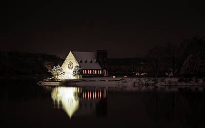 Photograph - Christmas Night by Brian Hale