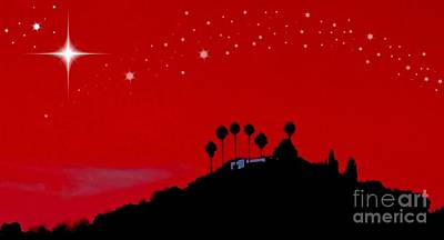 Photograph - Christmas Night In L. A.  by Jenny Revitz Soper