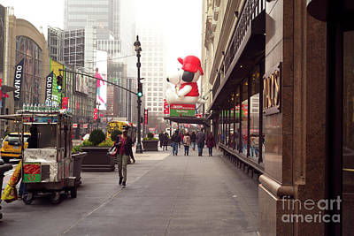 Photograph - Christmas On 34th Street by John Rizzuto