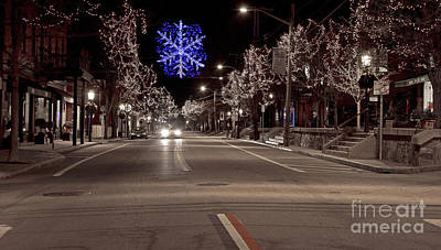 Photograph - Christmas On Hope St. by Butch Lombardi