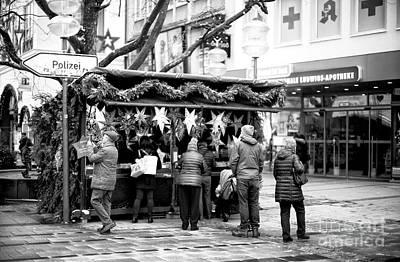 Photograph - Christmas On Neuheuser Street by John Rizzuto