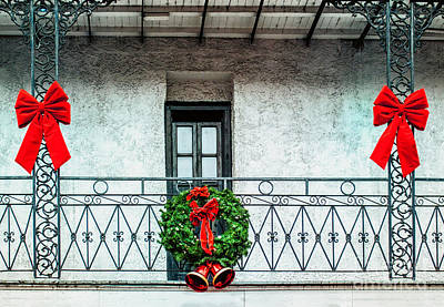 Photograph - Christmas On The Balcony by Frances Ann Hattier