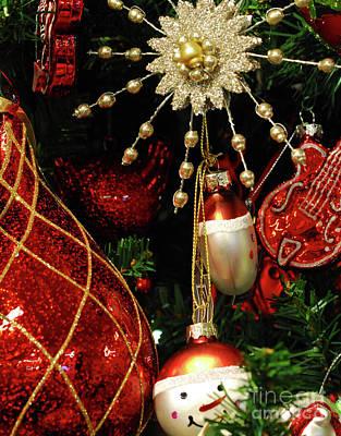 Christmas Ornaments 1 Original by Nancy Mueller