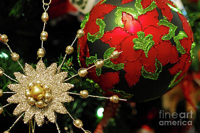 Christmas Ornaments 2 Original by Nancy Mueller