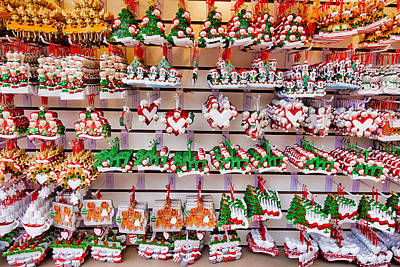 Photograph - Christmas Ornaments by Robert Meyers-Lussier