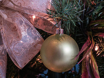 Photograph - Christmas Ornaments by Stewart Helberg