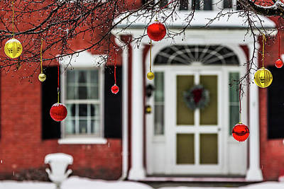 Photograph - Christmas Ornaments by Tim Kirchoff