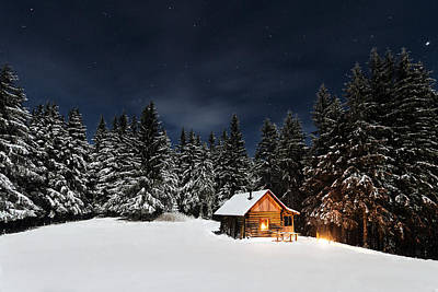 Cabins Photograph - Christmas by Paul Itkin