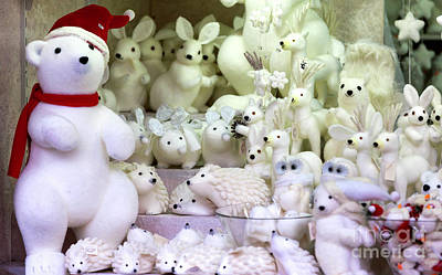 Photograph - Christmas Polar Bears In Vienna by John Rizzuto