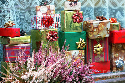 Photograph - Christmas Presents In Vienna by John Rizzuto