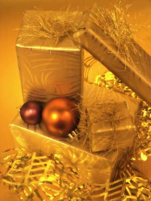 Photograph - Christmas Presents by Wim Lanclus