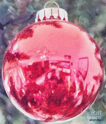 Painting - Christmas Reflected by Jeff Kolker