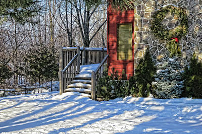 Photograph - Christmas Scene In Canada by Tatiana Travelways