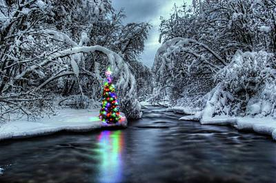 Photograph - Christmas Spirit On Pipe Creek by Robert Hosea