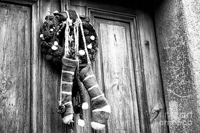 Photograph - Christmas Stockings In Salzburg by John Rizzuto