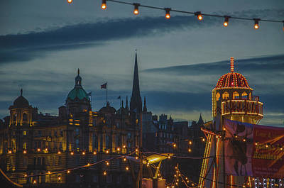 Photograph - Christmas Time At Edinburgh by Edyta K Photography