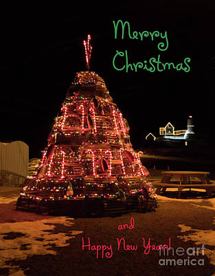 Photograph - Christmas Time At Nubble Light by Patrick Fennell