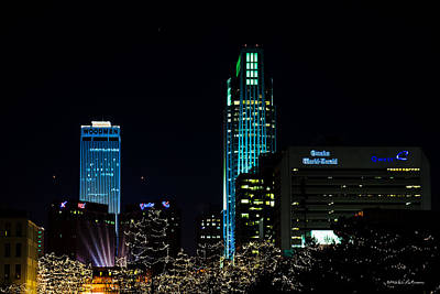 Photograph - Christmas Time In Omaha by Edward Peterson