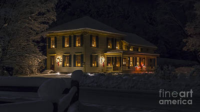Photograph - Christmas Time In Richmond by Scenic Vermont Photography