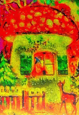 Vladimir Putin Digital Art - Christmas Times - Da by Leonardo Digenio