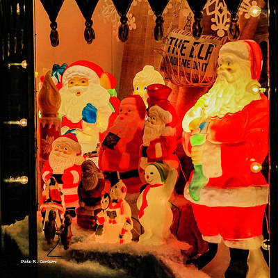 Photograph - Christmas Times Past by Bluemoonistic Images