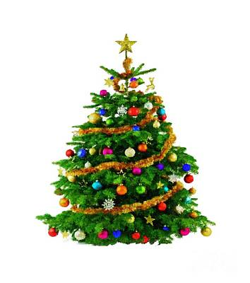 Digital Art - Christmas Tree 1417 by Rafael Salazar