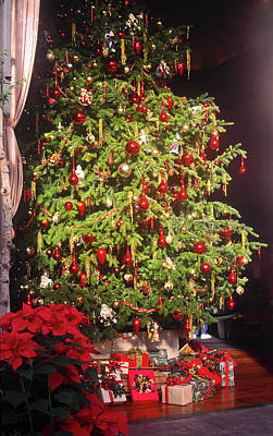 Photograph - Christmas Tree And Gifts by Sally Weigand
