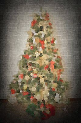 Concept Painting - Christmas Tree by Art Spectrum