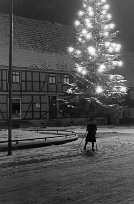 Eve Photograph - Christmas Tree by German School